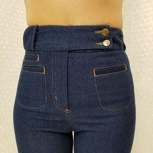 """Karen Walker Jeans - Karen Walker """"Original Sin"""" high waist flare jeans"""